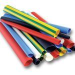 Tubo plástico termo encolhível